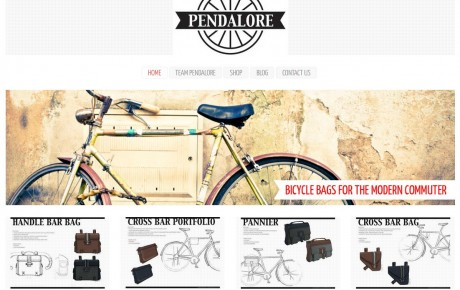 Pendalore  Leather Bicycle Bags